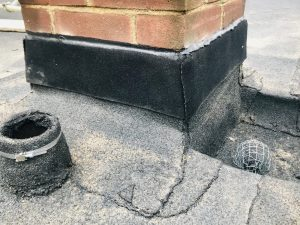 Flat Roofing details outlet soil pipe