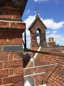Chimney Brick Work on Heritage Grade II