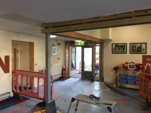 Structural Steels in a School